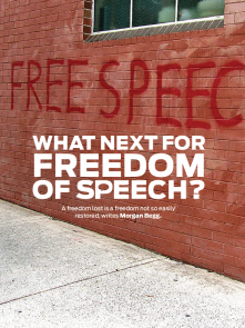 What Next For Freedom of Speech?