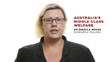 Australia's middle class welfare problem