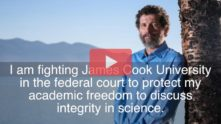 Professor Peter Ridd Standing Up For Scientific Integrity Against James Cook University