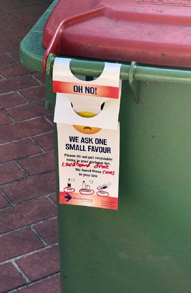 Council Cops Rubbishing For Going Through Bins