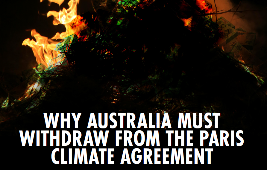 Australia Must Withdraw From Paris
