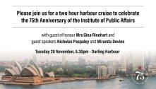 75th Anniversary Gala Celebration – Sydney