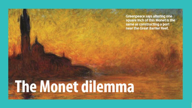 The Monet Dilemma
